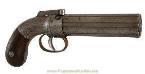 3: Ethan Allen Pepperbox Revolver