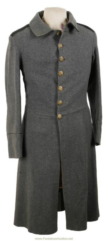 94: U S New York Regiment Militia Frock Coat - C 1860