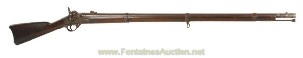 143: MODEL 1861 US PERCUSSION 58 CALIBER RIFLE-MUSKET T