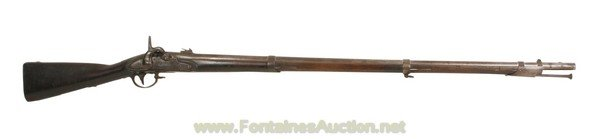 146: 69 CALIBER SPRINGFIELD MODEL 1816 MUSKET CONVERTED