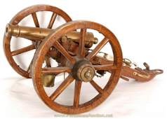 336 13 Scale Model Of Civil War Cannon