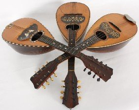 3 Rosewood Mandolins