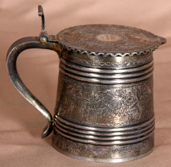89: Russian 84 .zol Silver Stein - 1891 Moscow.
