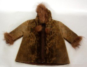 Wonderful Child's Eskimo Fur Jacket.