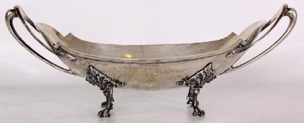 166: Early Gorham Sterling Silver Center Bowl