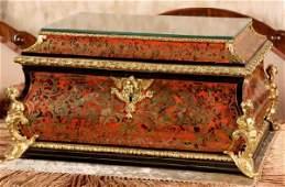 248 126 Pc Tiffany Chrysanthemum Boulle Flatware Box