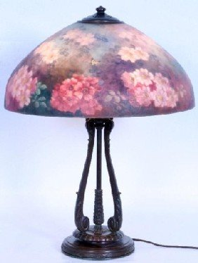 "Handel #6688 Floral & Butterfly The 18"" Shade Is R"
