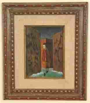 250: Remedios Varo, O/B - 1908-1963 Oil On Board by Rem