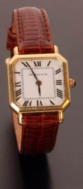 6: 18K Tiffany & Co Ladies Watch