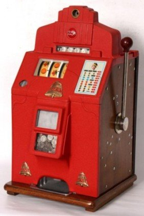 O.D. Jennings Dixie Bell 25 Cent Slot Machine