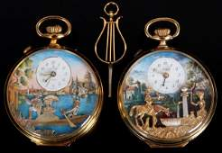 212: Reuge and Arnex Musical Pocket Watches