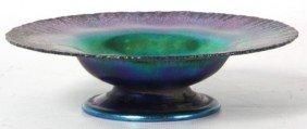 3: L.C. Tiffany Favrile Art Glass Tazza