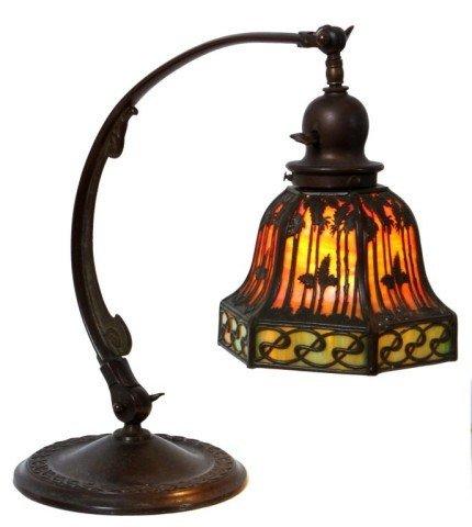 24: Handel Sunset Palm Desk Lamp