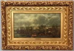 41: Charles Henry Miller O/C Long Island Landscape