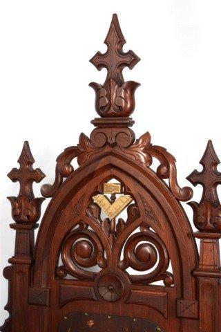341: 5 Gothic Masonic Chairs - 2