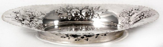2: 800 Silver Repousse Tray