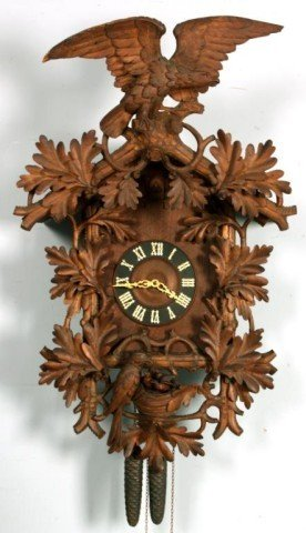 21: Large Black Forest Cuckoo Clock
