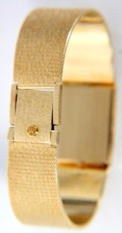 34: Movado 14K Gold Men's Watch - 4