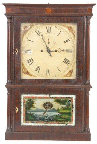 204: Heman Clark Salem Bridge Shelf Clock