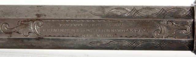 133: Cased 1858 Engraved Remington New Model - 5