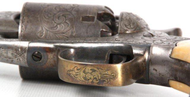 133: Cased 1858 Engraved Remington New Model - 7