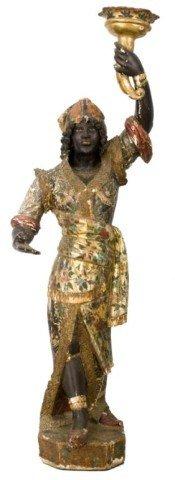 13: Figural Carved Blackamore