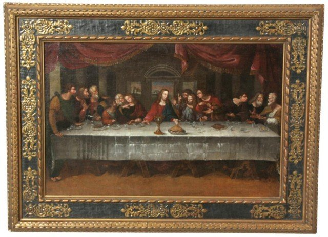80: 18th Century Leonardo's Last Supper