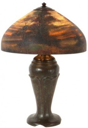 "18"" Handel Scenic Table Lamp"