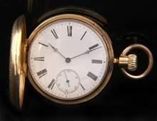 279: 18K Gold 42mm Pocket Watch
