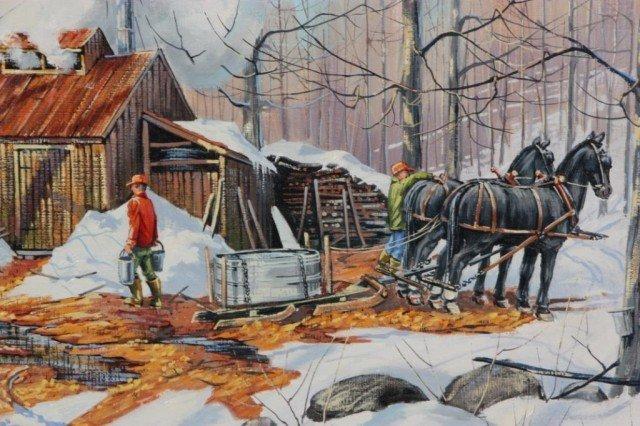 291: Samuel S Thorpe Jr. O/C Painting - 2