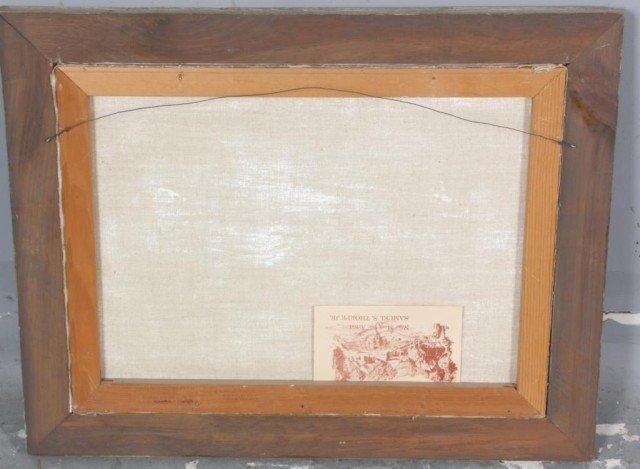 291: Samuel S Thorpe Jr. O/C Painting - 4