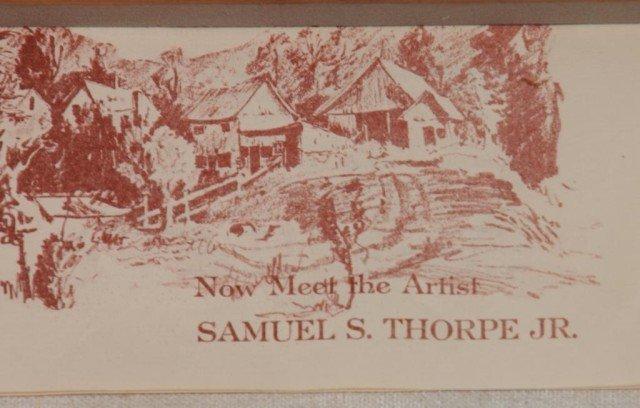 291: Samuel S Thorpe Jr. O/C Painting - 5