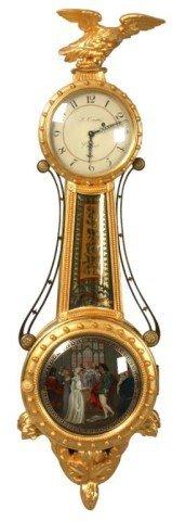 129: Girandole Banjo Clock by Ted Burleigh