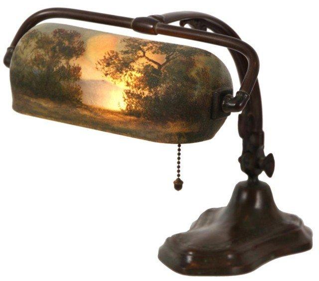 162: Handel Scenic Piano Lamp