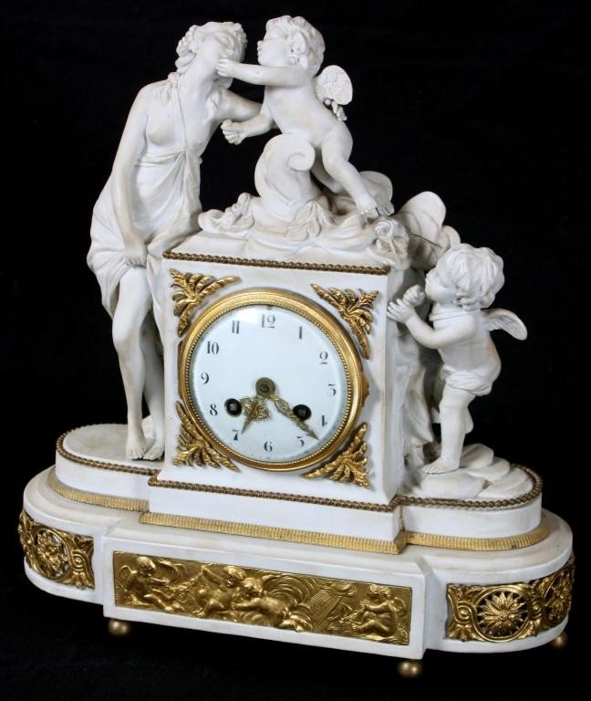 99: Sevres Venus & Amor Porcelain Clock