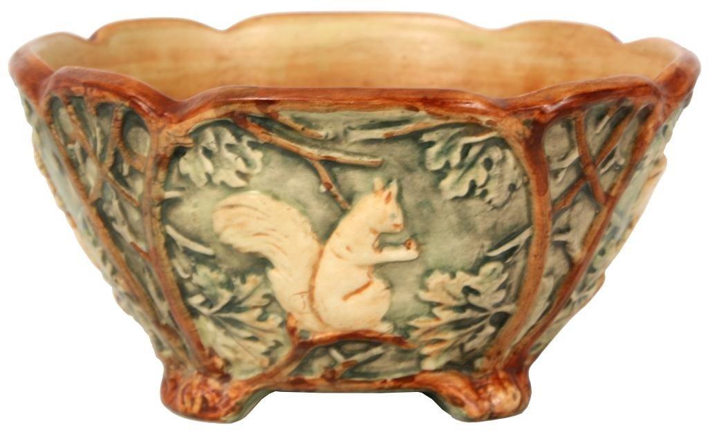 113: Weller Woodcraft Bowl, Unglazed