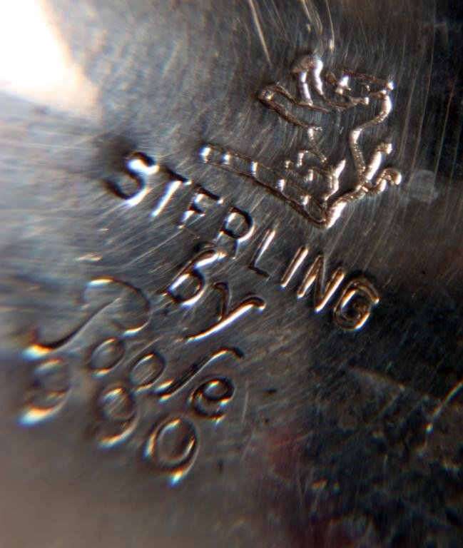 250: 5 Pc. Poole Sterling Tea Set - 2