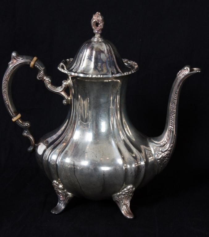 250: 5 Pc. Poole Sterling Tea Set - 5