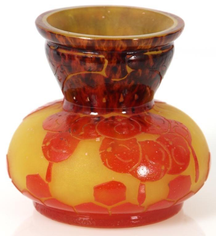 344: Schneider Groseilles Cameo Vase