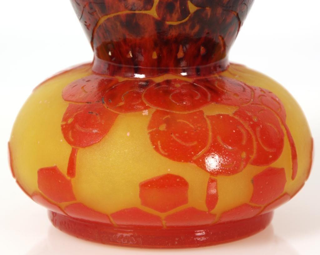 344: Schneider Groseilles Cameo Vase - 2