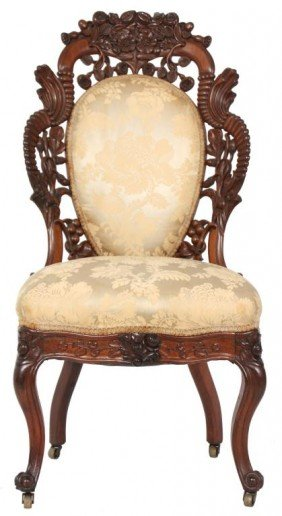 Belter Cornucopia Rosewood Sidechair
