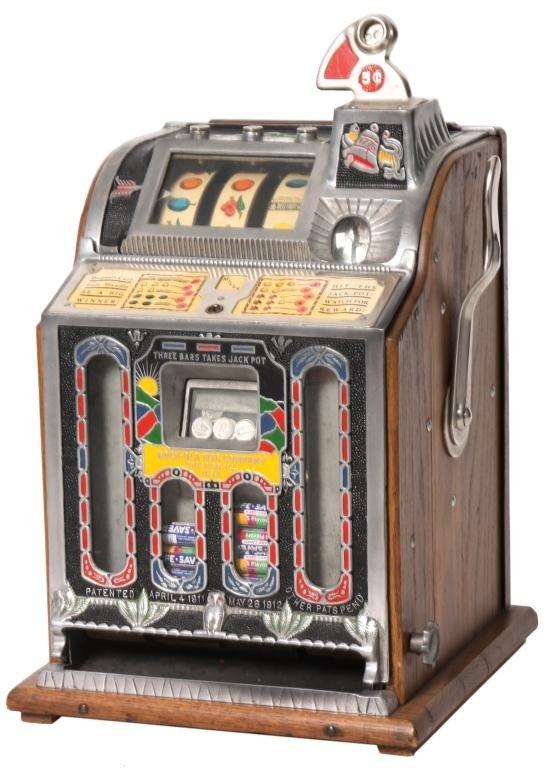 138: Mills 5 Cent Rock-Ola Vender Slot Machine
