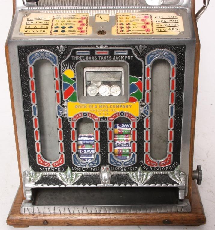 138: Mills 5 Cent Rock-Ola Vender Slot Machine - 3