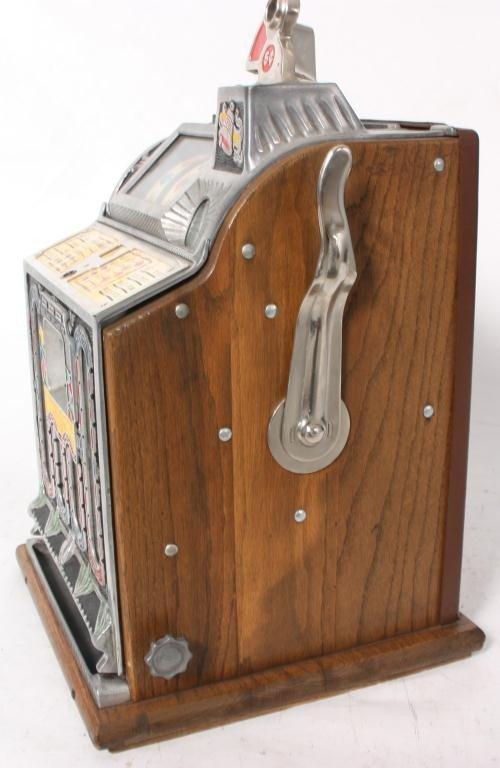 138: Mills 5 Cent Rock-Ola Vender Slot Machine - 4
