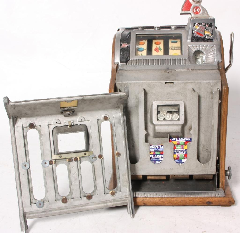 138: Mills 5 Cent Rock-Ola Vender Slot Machine - 5
