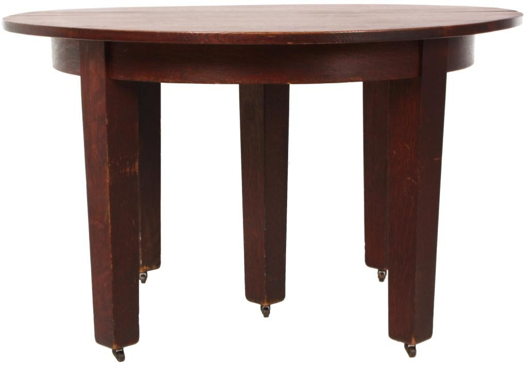 211: Gustav Stickley No. 632 Dining Table