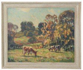 W. Lester Stevens O/C Landscape