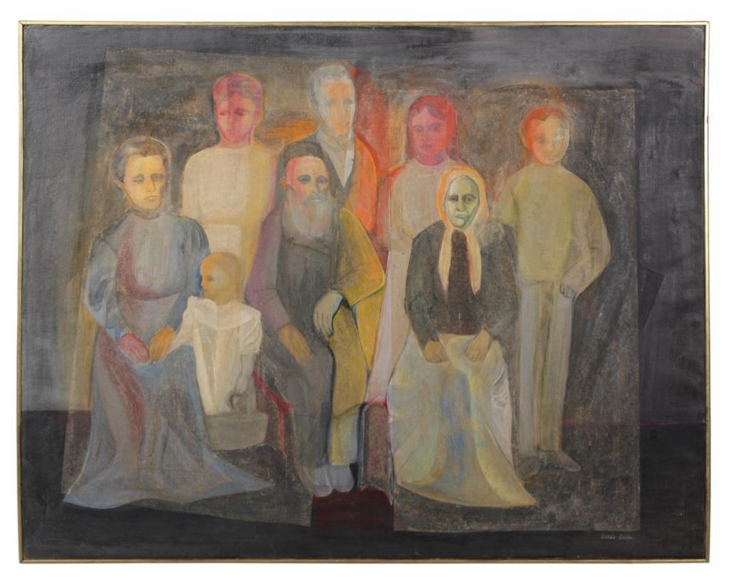 115: Large Bessie Boris Painting