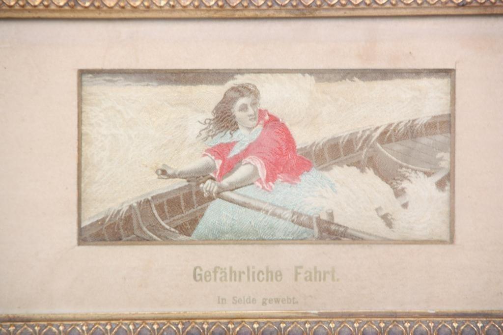 136: Dangerous Ride - Silk Woven Scene - 2