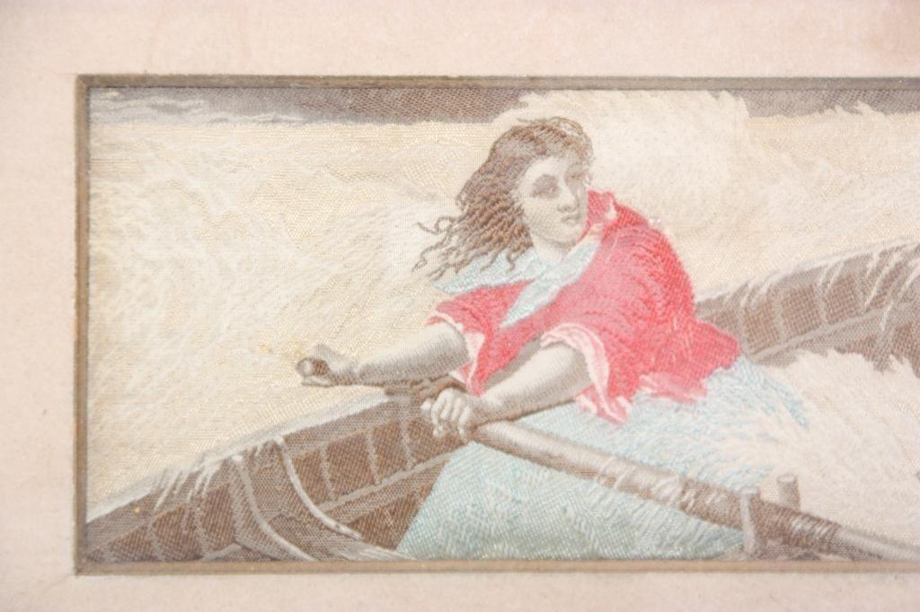 136: Dangerous Ride - Silk Woven Scene - 3